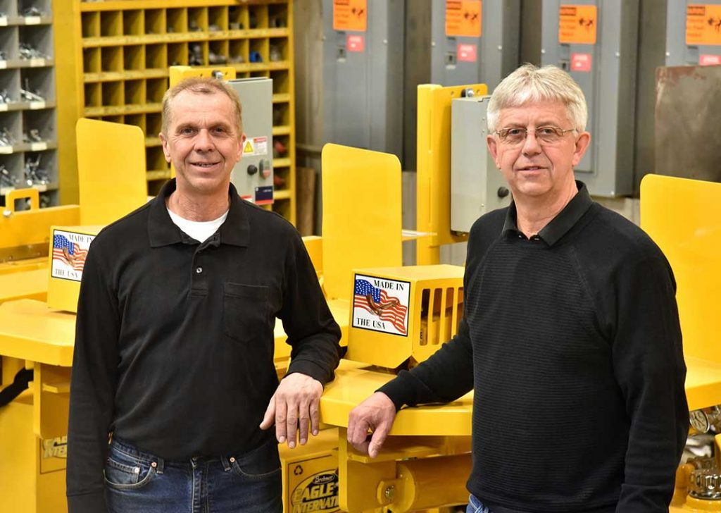 President and Vice-President of Brehmer Mfg.