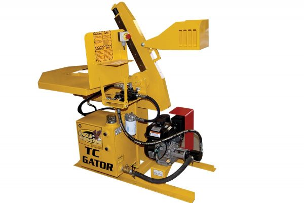 "Eagle TC Gator Tire Cutter cleanly cuts through tires up to 20"" pickup or SUV"