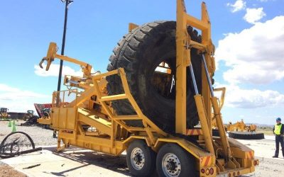 Mobile OTR Tyre Processing Solution with Treecycle Pty. Ltd.