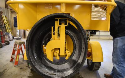 What is the best machine to remove sidewalls from tires?